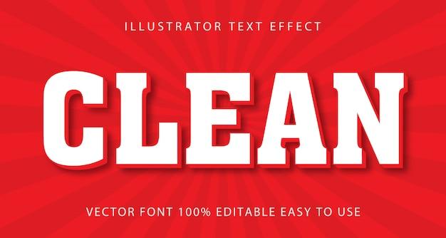 Clean night neon редактируемый текстовый эффект