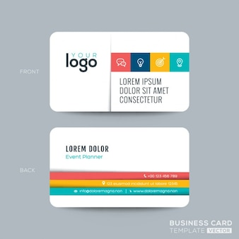 Clean and simple business card