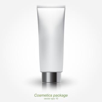 Clean tube of cream
