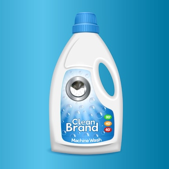 Clean wash bottle icon.