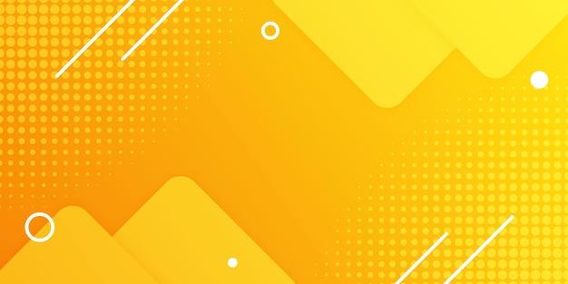 깨끗한 노란색 미니멀 한 배경