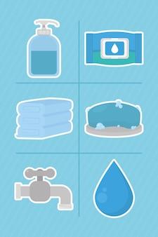 Чистка и мытье рук