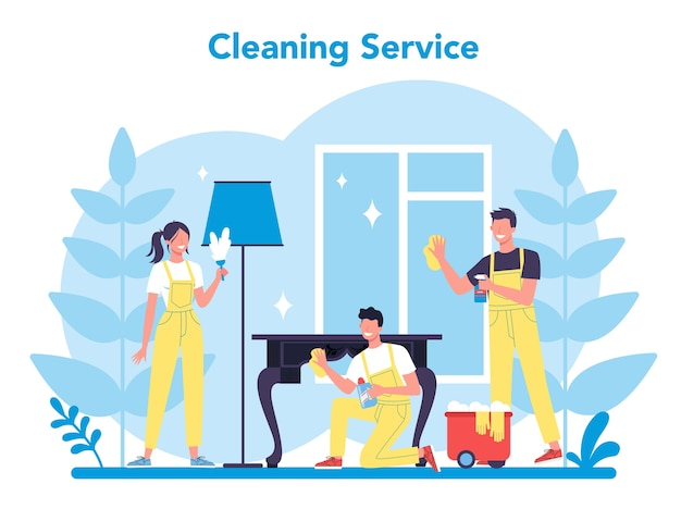 Cleaning service or company