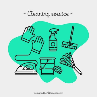 Cleaning service for hospital