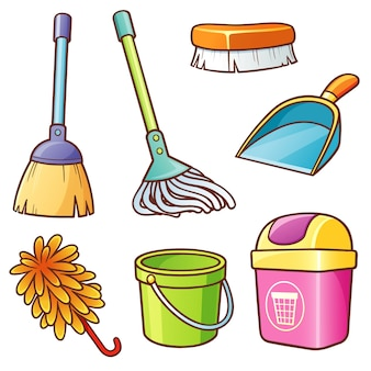 Cleaning supplier set