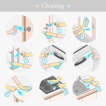 表面図の掃除
