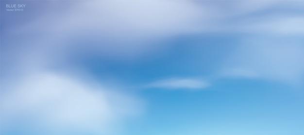 Clear sky illustration background