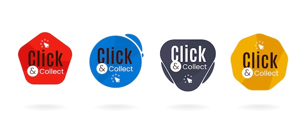 Click and collect button set