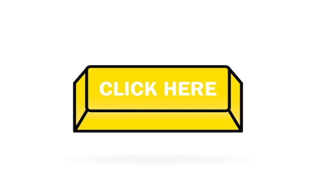 Click here button. can be used for website.