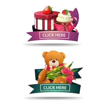 Clickable mother's day banner for website