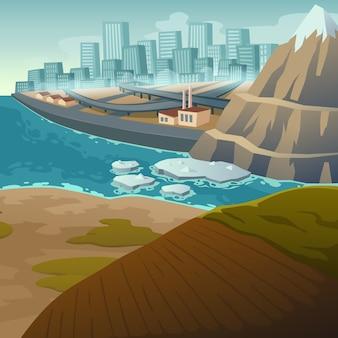 気候変動と氷河の融解