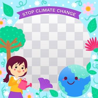 Рамка facebook по изменению климата