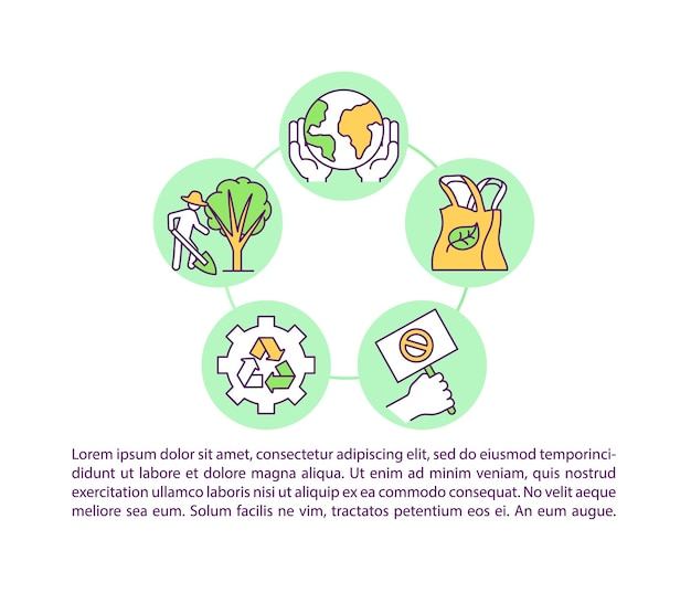 Climate change responsibility concept icon with text illustration