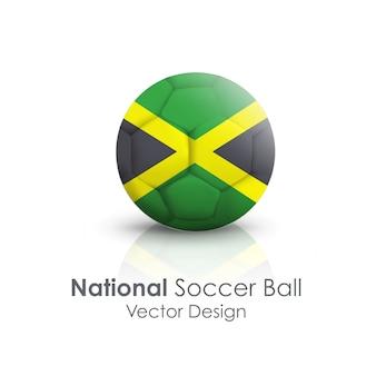 Clipping nazione paese bianco palla