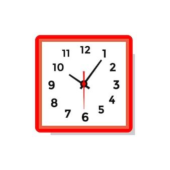 Clock illustration logo