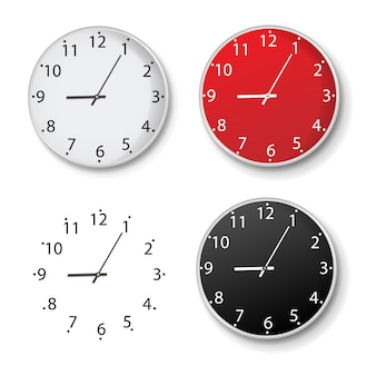 Clock set isolated isolated