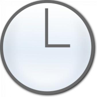Clock unnumbered