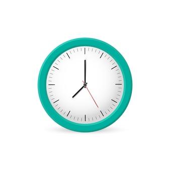 Clock wall, time. illustration