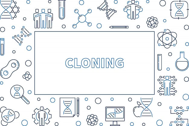 Клонирование контура рамки
