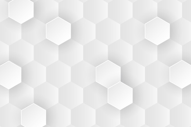 Close-up minimalist honeycomb background design