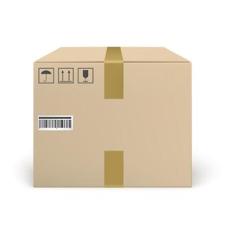 Closed cardbox
