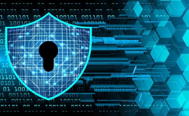 디지털 배경 기술 보안 개념에 닫힌 자물쇠 현대 안전
