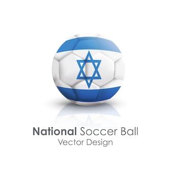 Closeup sport soccer icon sphere