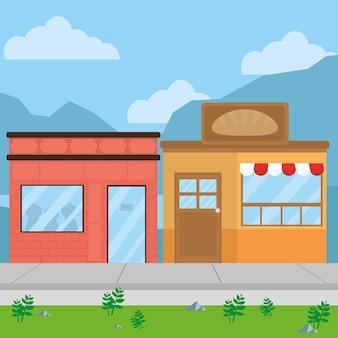 布とコーヒーの店