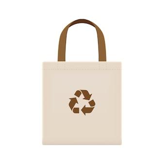布エコバッグブランクまたは綿糸布バッグ