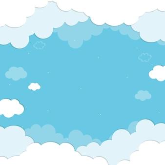 Фон облака
