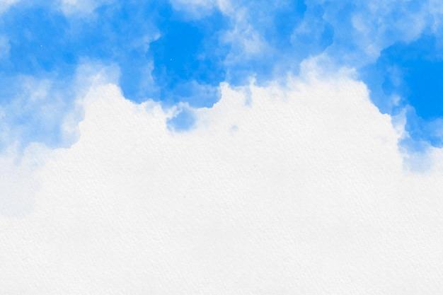 구름 배경