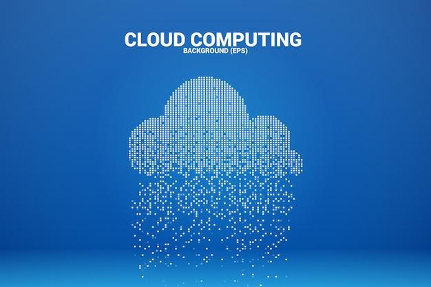 Преобразование данных облачных вычислений из пикселя