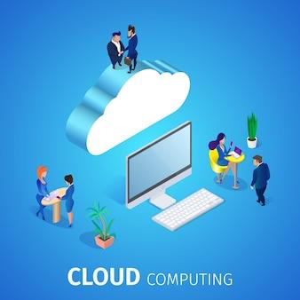 Cloud computing. database service.