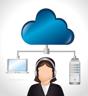 Cloud computing and hosting