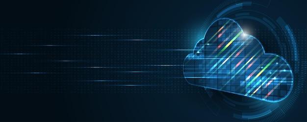 クラウドコンピューティングストレージテクノロジーの背景デジタルデータサービスイノベーションの概念