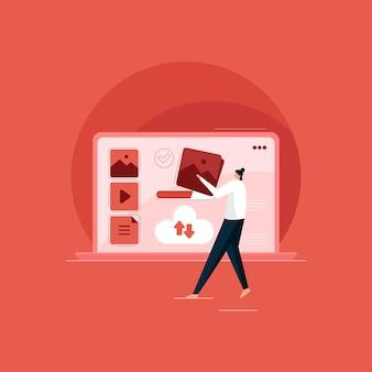 クラウドコンピューティングテクノロジー、コンピュータークラウドインテリジェントファイル検索およびサービス
