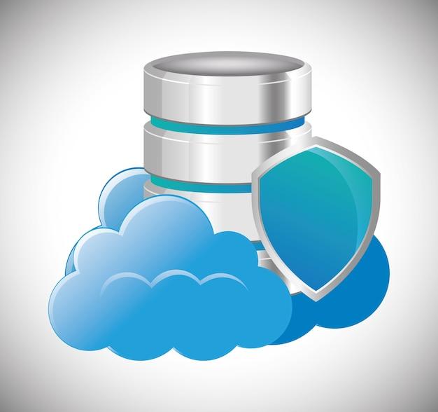 Cloud computing web hosting design