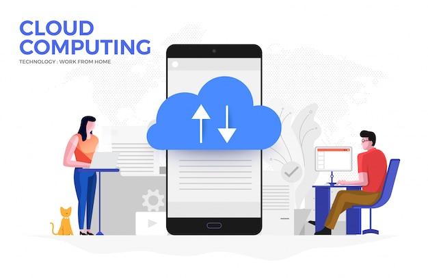 Cloud computiong для работы из дома 05