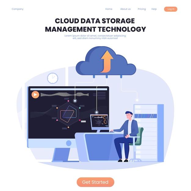 クラウドデータストレージ管理テクノロジー