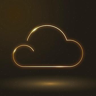 雲アイコンベクトル天気記号
