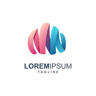 Cloud modern logo
