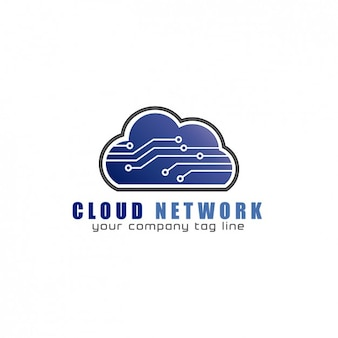 Логотип cloud network