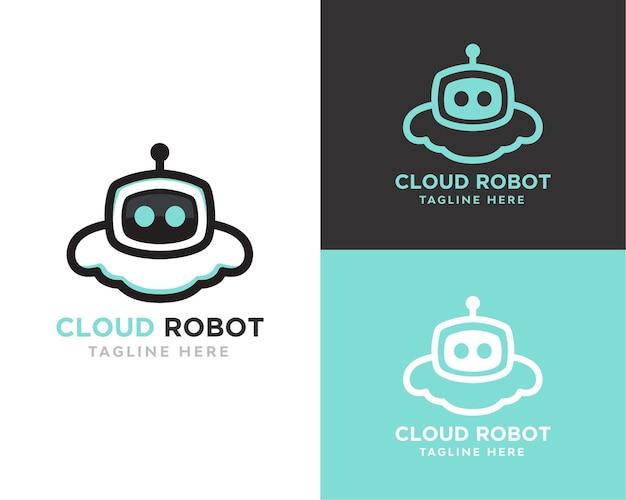 Cloud robot logo