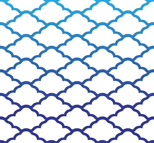 Cloud seamless pattern