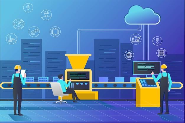 Оператор машины обработки данных облачного сервера