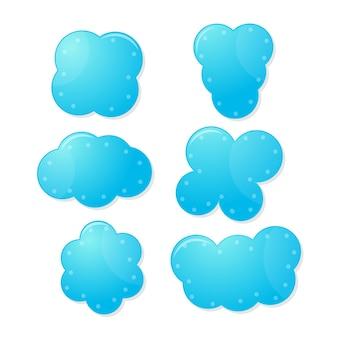 Cloud speech text boxes