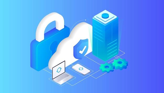 クラウドストレージサイバー保護アンチウイルスデバイスの更新オンラインコンピューティングインターネットデータベース