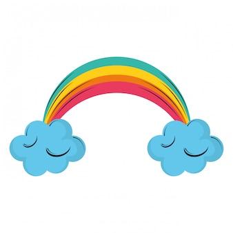 雲と虹の漫画