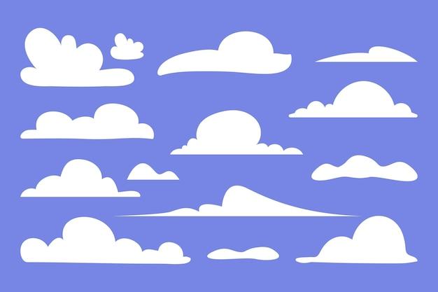 Collezione di nuvole