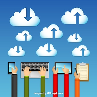 Облака вычислений концепция